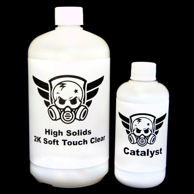 High Solids 2K Soft Touch Clear - Kansas Hydrographics