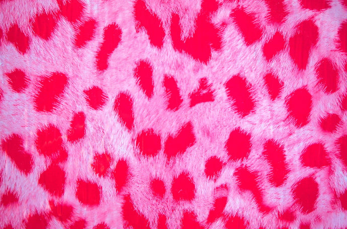 Pink Furry Leopard - Kansas Hydrographics