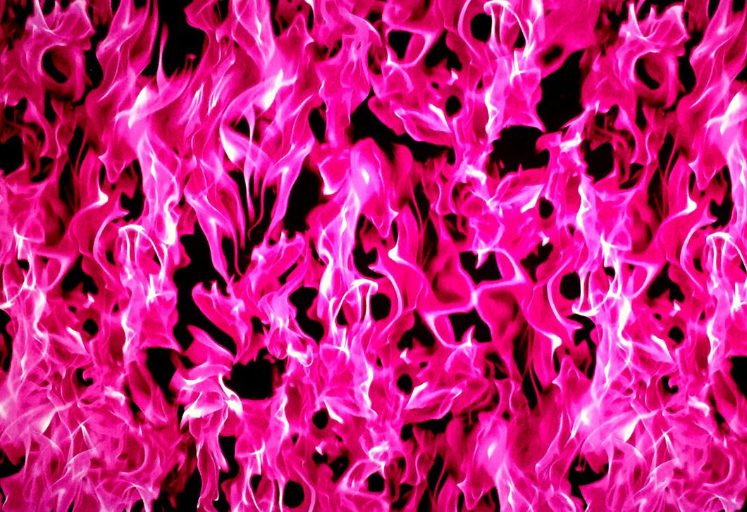 Pink True Fire - Kansas Hydrographics