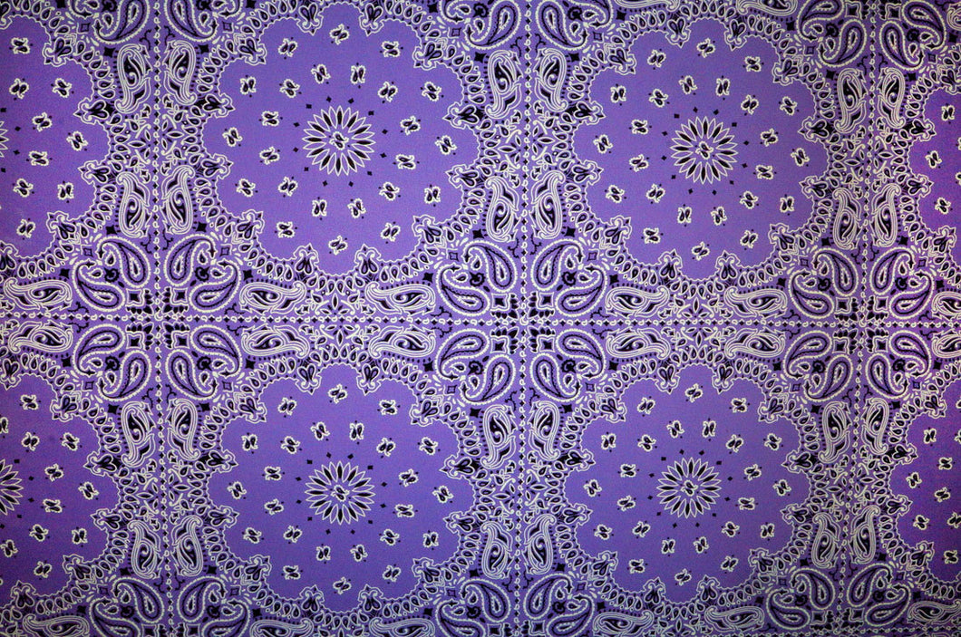 Purple Bandana - Kansas Hydrographics