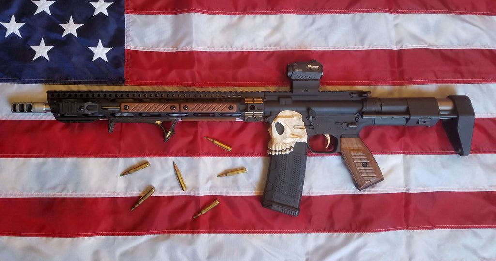 Wood AR-15 Build: