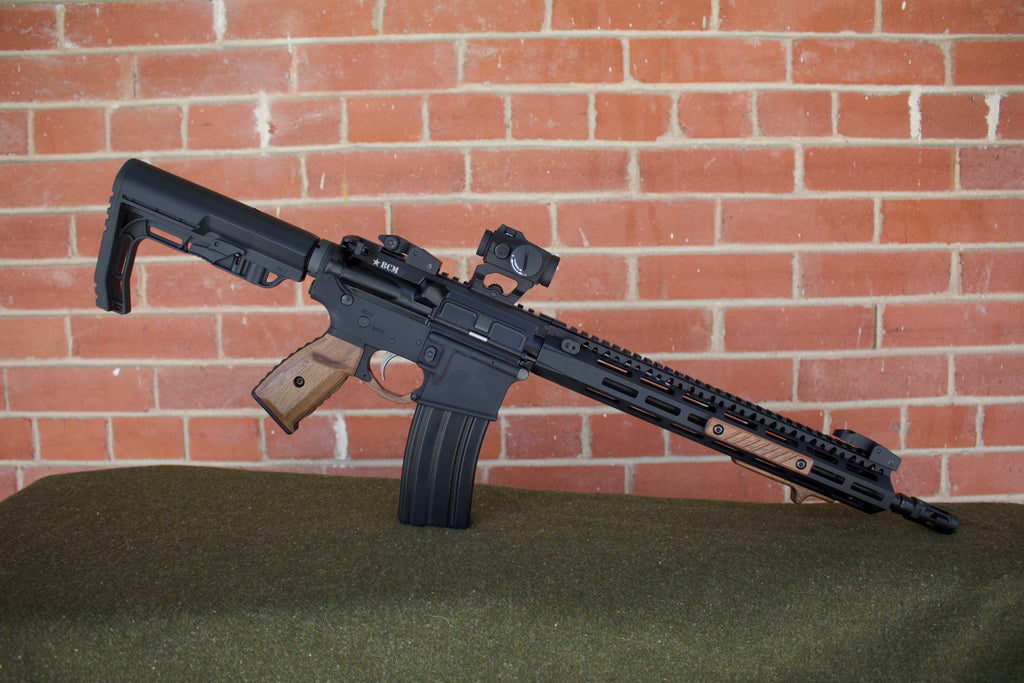 Low Profile Wood AR-15 Build