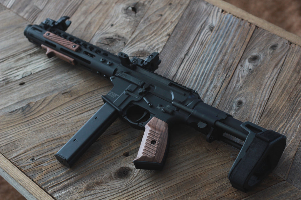 Wood AR-9 Pistol Build