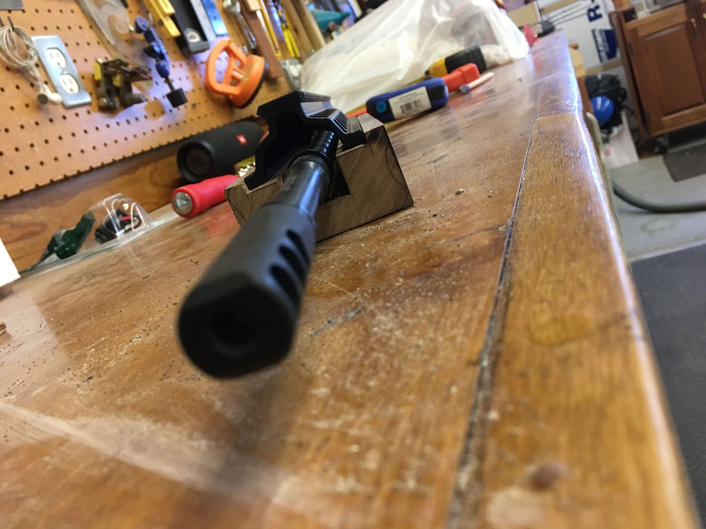 Wood Foregrip BAR-15 Rifle Build