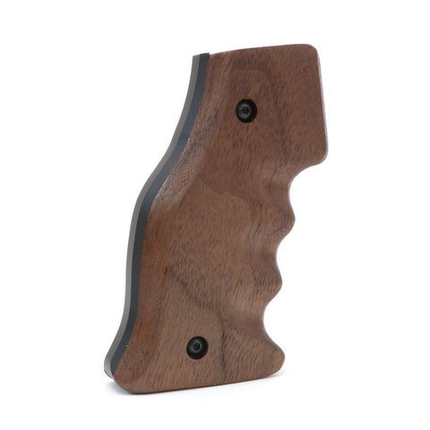Featherweight Wood AR-15 Grip, Walnut - Black Wood USA