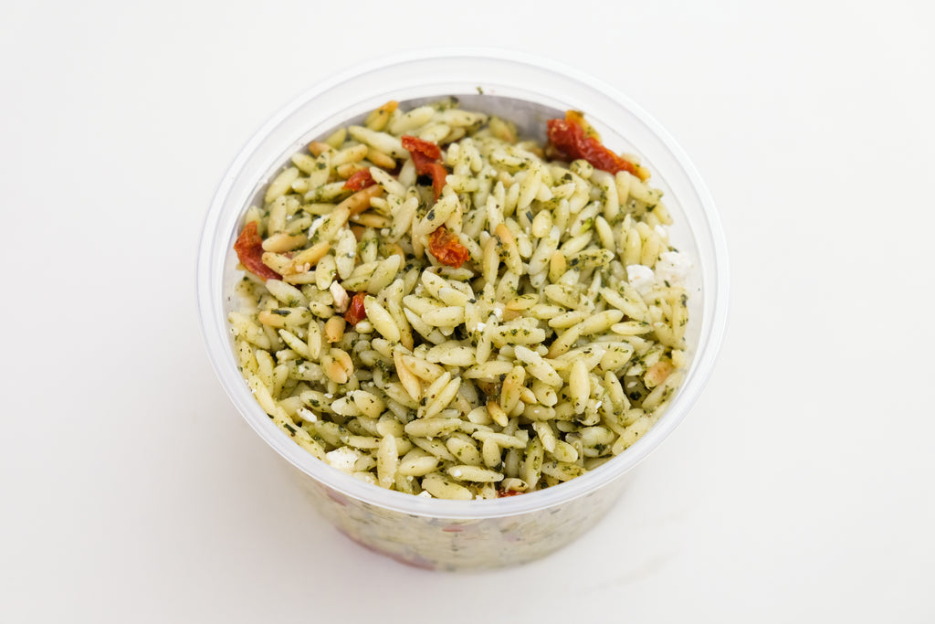 Pesto Orzo Salad