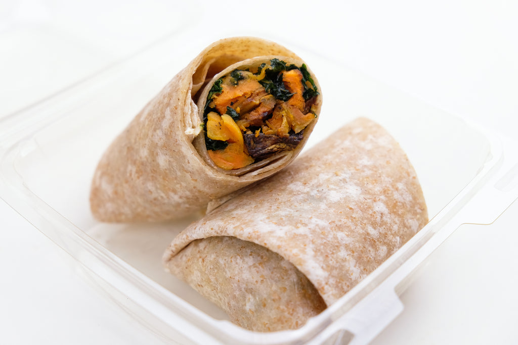 Sweet Potato & Kale Wrap