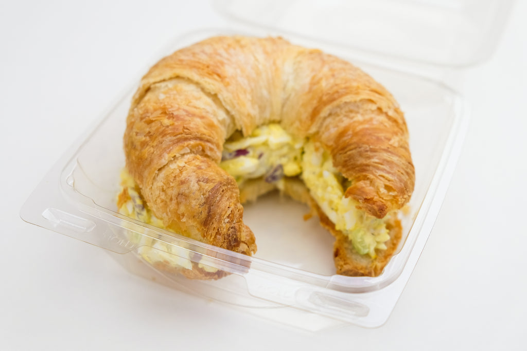 Egg Salad on Croissant