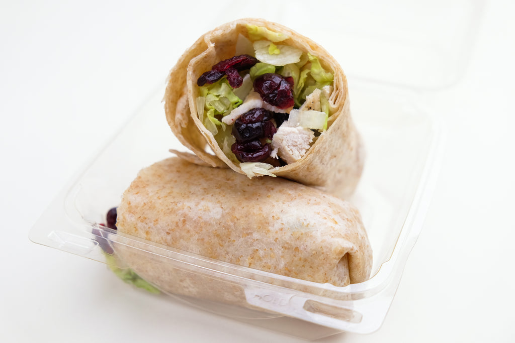 Cranberry Dijon Chicken Wrap