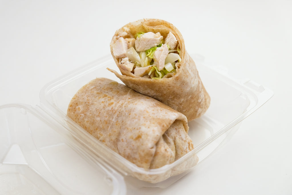 Lemon-Herb Chicken Wrap