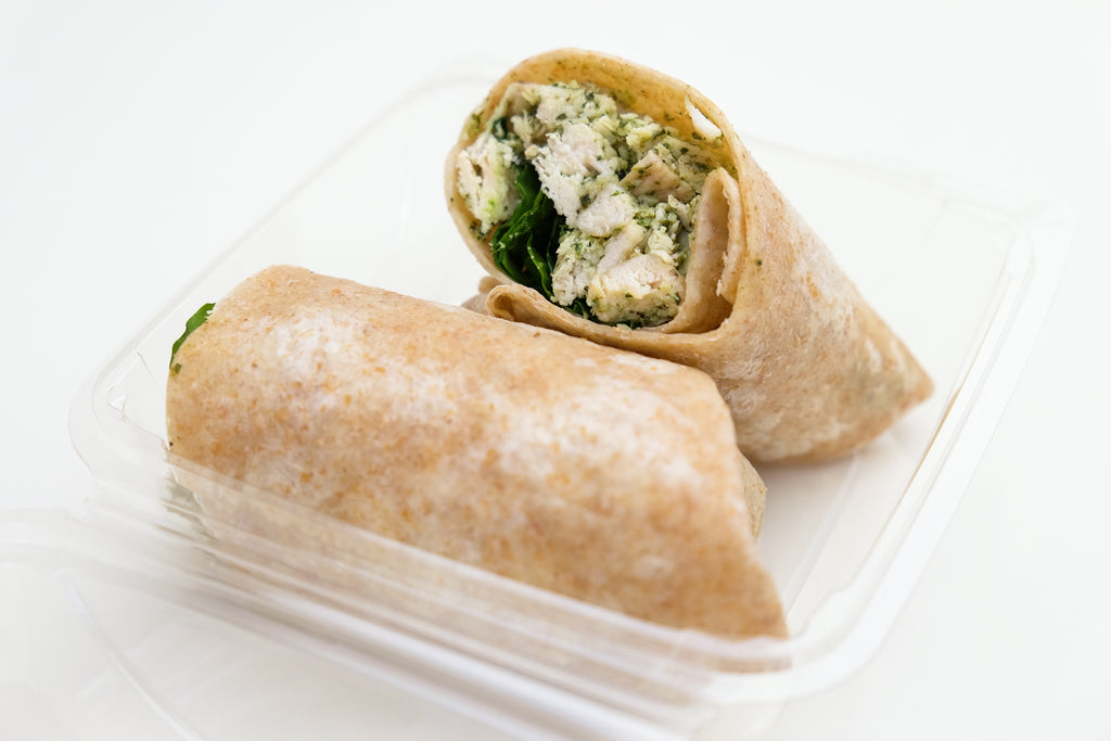 Pesto Turkey Wrap