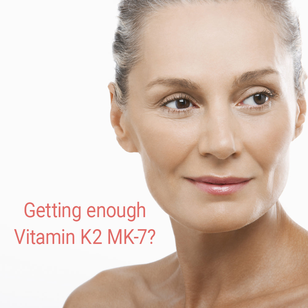 What is vitamin K2 MK-7 and why is it important during the menopause years?