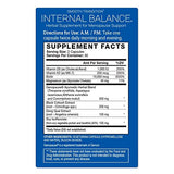 Internal Balance Herbal Supplement - 60 ct