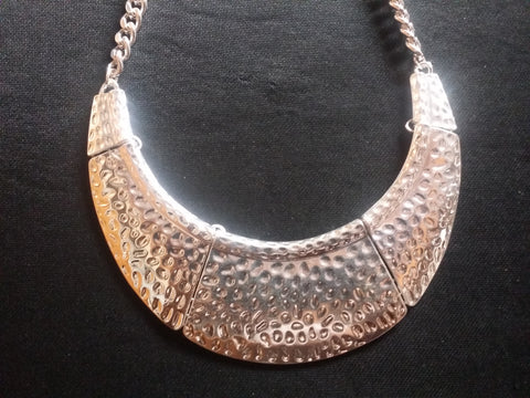 Crescent Necklace w/Earrings