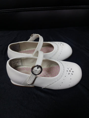 White StrideRite Toddlers' Dress Shoes