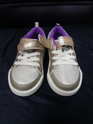 Purple/Bronze StrideRite Toddlers' Shoes