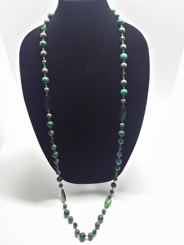 Multi-Green Necklace
