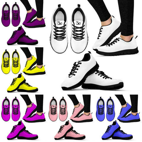 Plain Womens Sneakers 2
