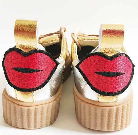 PENELOPE gold sneakers - SUITE 23