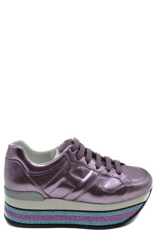 Hogan Purple Maxi Sneakers Women - SUITE 23