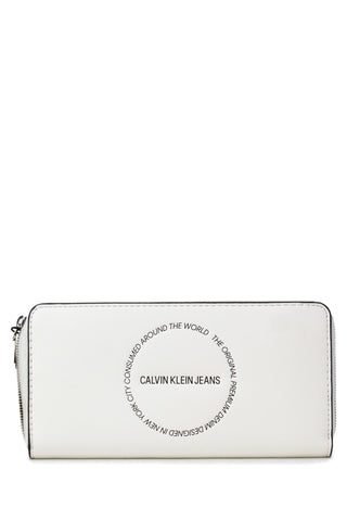 Calvin Klein Jeans Women Wallet White - SUITE 23
