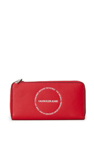 Calvin Klein Jeans Women Wallet Red - SUITE 23