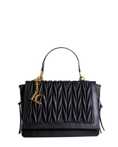 La Carrie Black Olympia Shopping Bag - SUITE 23