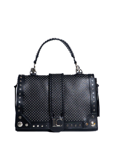 La Carrie Satchel Black Bag