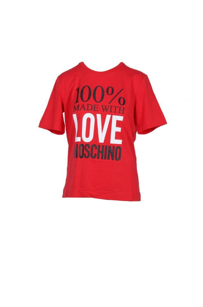 Love Moschino Women Red T-Shirt - SUITE 23