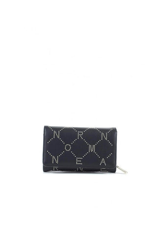 Ermanno Scervino Button Women Wallet Black - SUITE 23