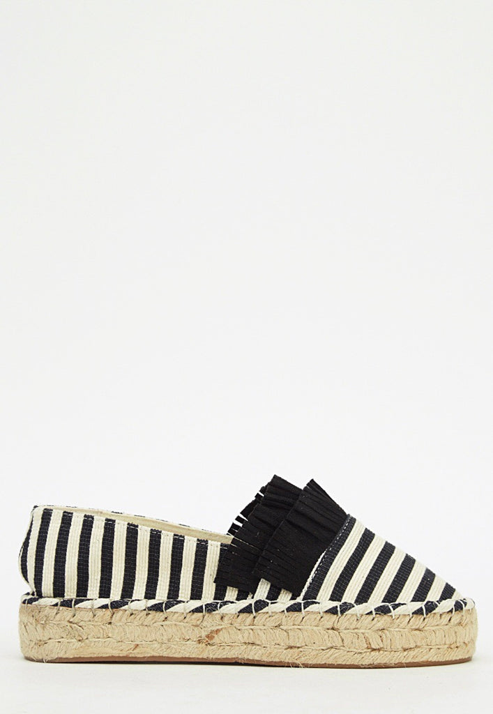 Striped tassel espadrilles - SUITE 23