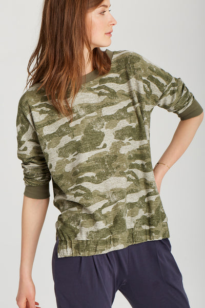 Shelby Camo Sweatshirt