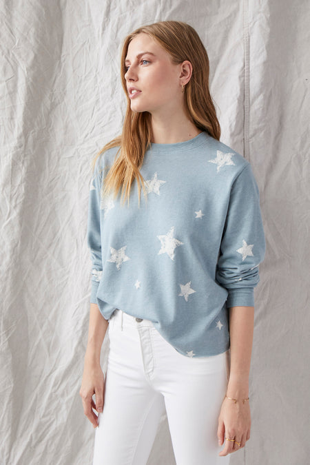 Grey State Star Sweatshirt