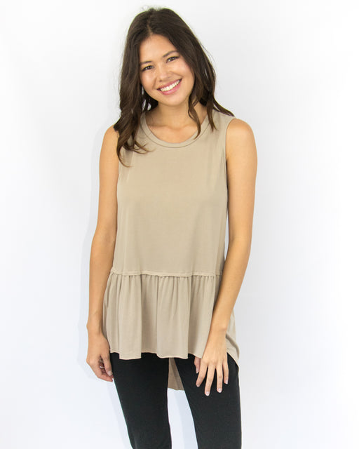 Luna Skirted Top