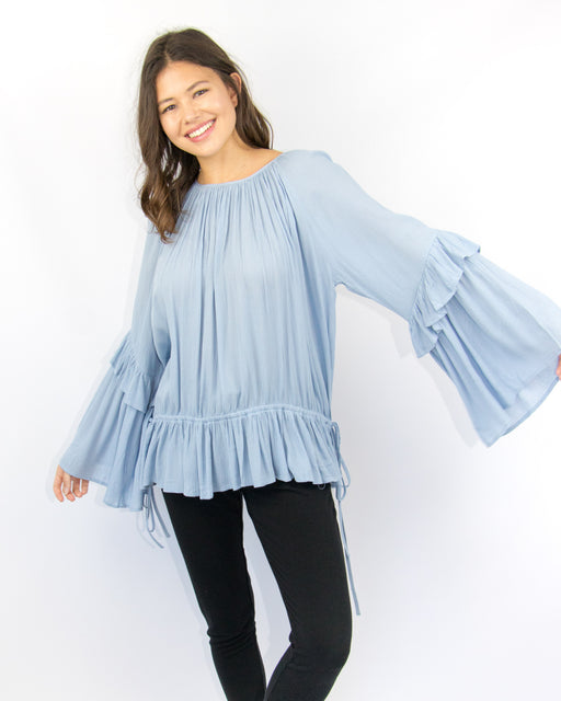 Giovanna Bell Sleeve Blouse