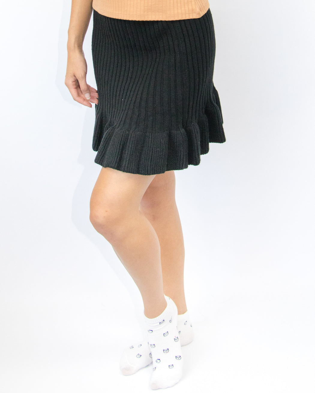 Mimi Ribbed Knit Skirt
