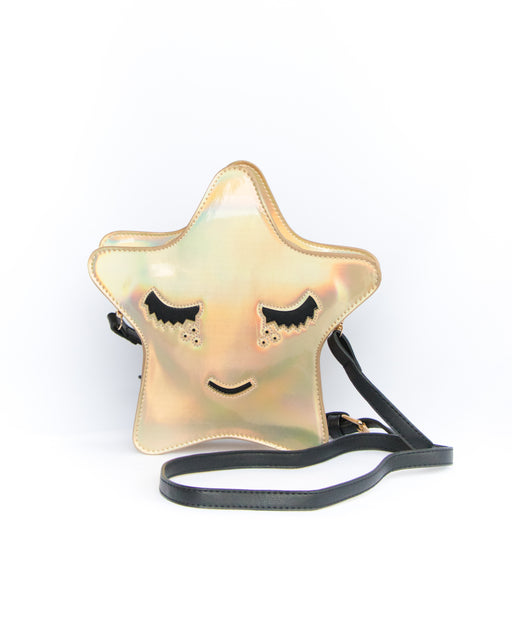 Shining Star Holographic Convertible Crossbody Clutch
