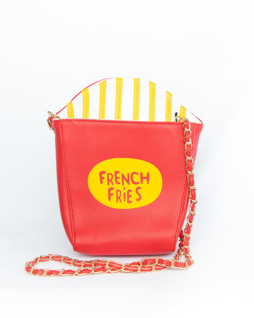French Fry Aficionado Convertible Crossbody Clutch