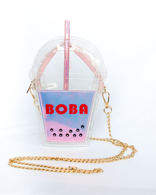 Oh Yes! It's Boba Time Convertible Crossbody Bag