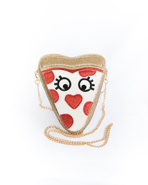 Pizza Slice Convertible Crossbody Bag