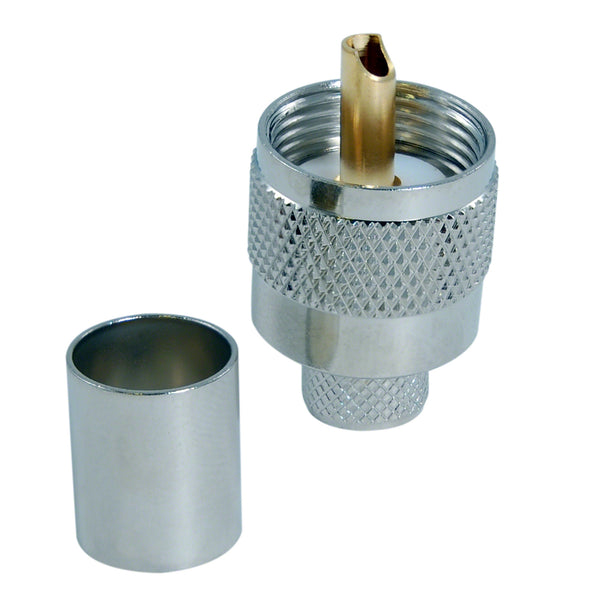 JEFA Tech Connector: UHF Male (Teflon) - LL400 - c400