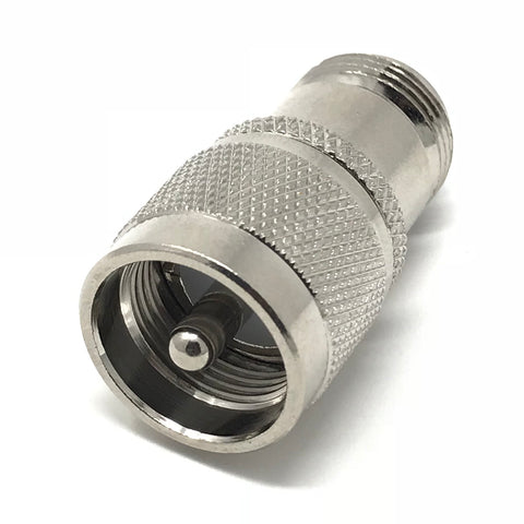 JEFA Tech Adapter: UHF Male (PL-259) to N Female