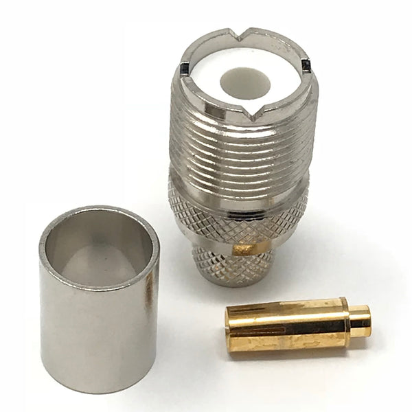 JEFA Tech Connector: UHF Female - LL400 - c400