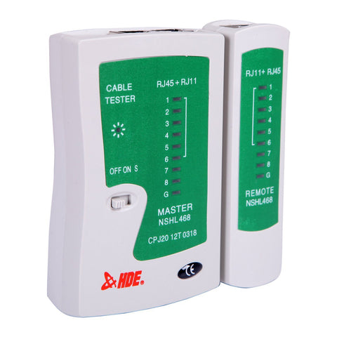RJ-45 Network Cable Tester - JEFA Tech