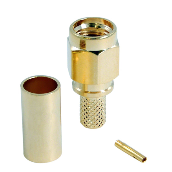 JEFA Tech Connector: RP-SMA Male - LL195 - c195