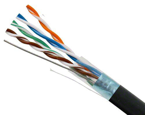 JEFA Tech Shielded Cat5e with Ground Wire