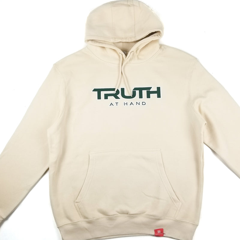 Truth at Hand Hoodie Sand/Green/White