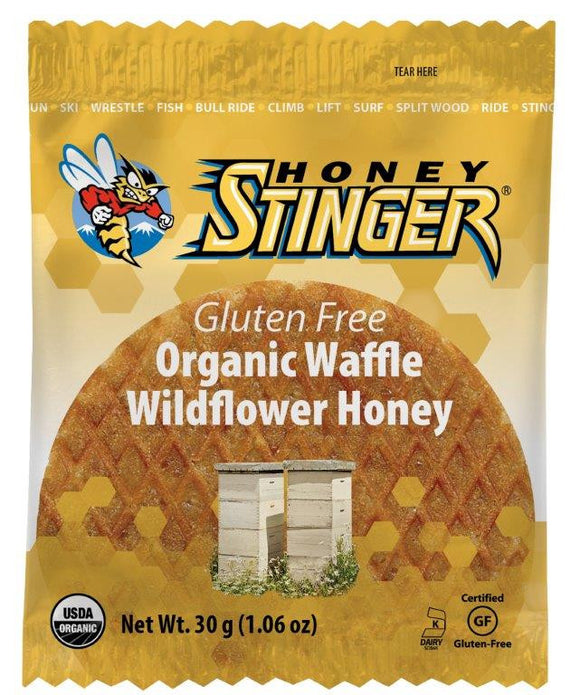 Gluten Free Organic Wildflower Honey Waffle - Box (16 Waffles)