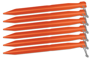 "Big Agnes 7"" Tent Stakes: Pack of 6"