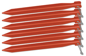 "Big Agnes 8"" Tent Stakes: Pack of 6"